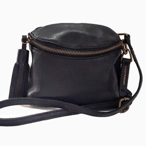Lucky Brand Small Stash Leather Crossbody